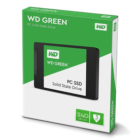 Ssd Wd Green 2.5´ 240gb Sata Iii 6gb/s Leituras Wds240g2g0a