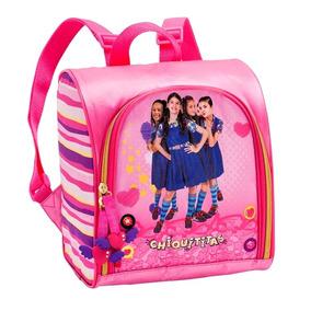 Lancheira Escolar Térmica Chiquititas Rosa Sbt - Pacific