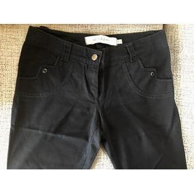 Jeans Wupper Negro Usado Talle L Semi Oxford