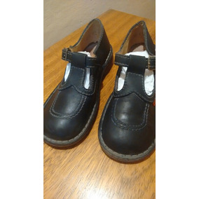 Zapatos Kickers Guillerminas Azules.