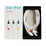 Cable Av Audio Y Video Para Ipod