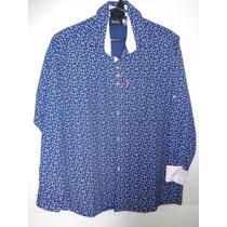 Pag 50; Camisa Hombre De Vestir M/l Talle 1-2-3-4-5-