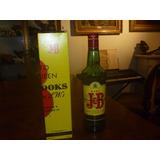 Botella Vacia Y Caja Wisky J Y B Coleccion Decoracion 2696