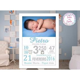 Quadro De Nascimento-maternidade-recém Nascido-infantil 017