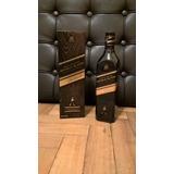 Botella Whisky Johnnie Walker Etiqueta Double Black Vacía*