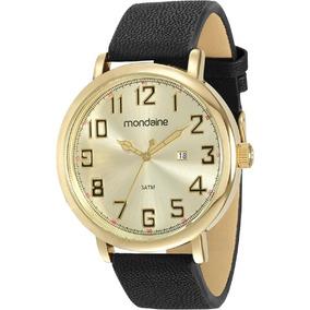 Relógio Masculino Mondaine Pulseira De Couro 83354gpmvdh2