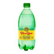 Agua Mineral Topo Chico Twist De Limón 600 Ml 12 Pack