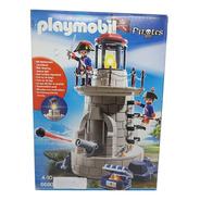 Playmobil Pirates 6680 Soldados Na Torre Do Farol Iluminado