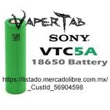 2 Pilas 18650 Sony Vtc5a 2500 Mah 25a, Originales Con Envio