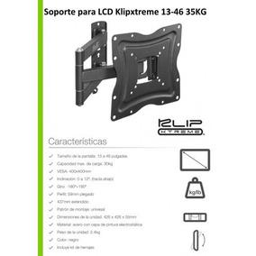 Soporte Articulado Klipxtreme Kpm-875 P/tv Lcd Envios Gratis