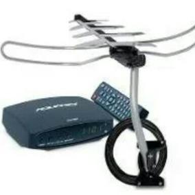 Kit Conversor Digital Dtv 7000 + Antena Externa Hdtv -2000