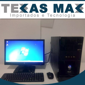 Pc Qbex Core I5 , Hd De 1tb E Memoria Ddr3 4gb + Tela De 19