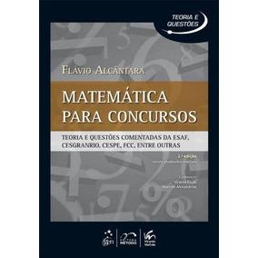 Matematica Para Concursos - Teoria E Questoes