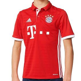 Playera Futbol Soccer Fc Bayern München Niño adidas Ai0055