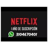 1 Año De Netflix Premium 4k Uhd 5 Perfiles