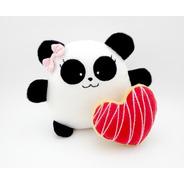 Mini Panda Niña Peluche Nombre Personalizado Cumpleaños Bebé