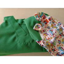 Pijama Cirurgico Estampado Com Touca Gratis