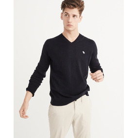 Sweater Chompa Abercrombie Cuello V