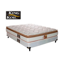 Colchon Sommier King Koil Finesse 2.00x2.00mts + 2 Almohadas