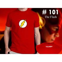 Flash, Star Lab - Flash Reverso - Zoom Remeras Dc Comic