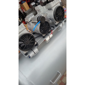 Compresor De 5 Hp 300 Litros Libre De Aceite 110 V.