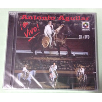 Antonio Aguilar - En Vivo - Cd + Dvd