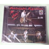 Antonio Aguilar - En Vivo - Cd + Dvd