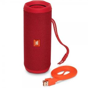 Caixa De Som 100% Original Jbl Flip 4 Speaker Preta / Black