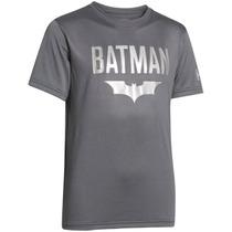 Playera Atletica Alter Ego Batman Niño Under Armour Ua1064