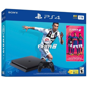 Playstation Ps4 Slim 1tb Consola + Fifa19