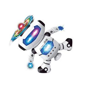 Brinquedo Infantil Robo Dancarino C/ Som E Luzes - Polibrinq