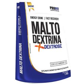 Malto Dextrina C/ Dextrose E Vitamina C - 1000g - Profit