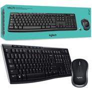 Kit Teclado + Mouse Inalambrico Logitech Mk270 Usb 2.4ghz