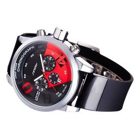 Reloj Cronografo Sinobi Resistente Al Agua 30m Envio Gratis
