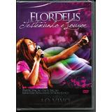 Dvd Flordelis - Testemunho E Louvor (ao Vivo)