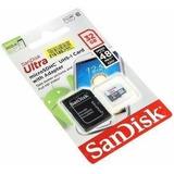 Micro Sd Sandisk 32gb Uhs-i Con Adaptador Oferta!!!