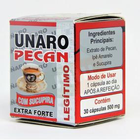 Queima De Estoque: 22 Frascos Unaro Pecan Extra Forte 30 Cps