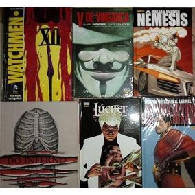 Pacote De Encadernados Do Inferno, Watchmen, Superior E +
