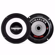 02 Falante Tomahawk Soft 6 Pol 150w Som Qualidade Voz Grave