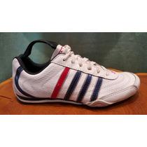 Zapatillas De Cuero Blancas. Nuevas.