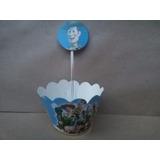 Saia Para Mini Cup Cake + 10 Topper Toy Story R$ 16,99