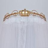 Dossel Coroa Príncipe Princesa Dourado E Mosqueteiro