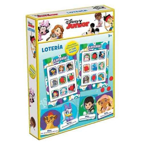 Noveltty Lotería De Lujo Disney
