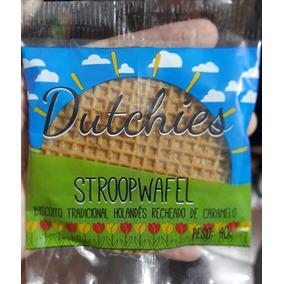 Stroopwafel - Gigante Recheado Com Caramelo Suíço