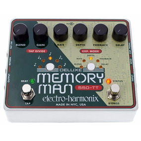 Pedal Ehx Deluxe Memory Man 550-tt Tap 550ms Analog Delay