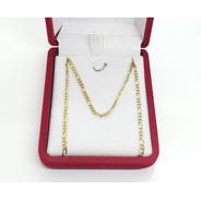 Cadena Hombre Oro 18k- Figaro - 60 Cms- 7,7 Grs - Ca76