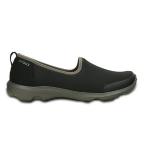 Crocs Mujer Zapatilla Busy Day Stretch Skimmer Black