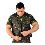 Colete Adventure Camuflado Exército Brasileiro Eb Pesca Caça