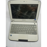 Netbook Display 10 Mem 2gb Disco 320gb Intel Usada