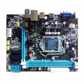 Placa Mãe Chip Intel H61 Ddr3 1155 P/ I3/i5/i7 Nova Até 16gb